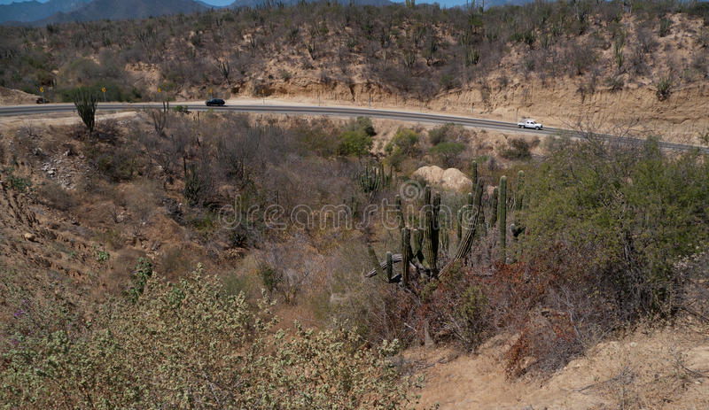 Download Highway In The Desert Stock Image - Image: 38594381