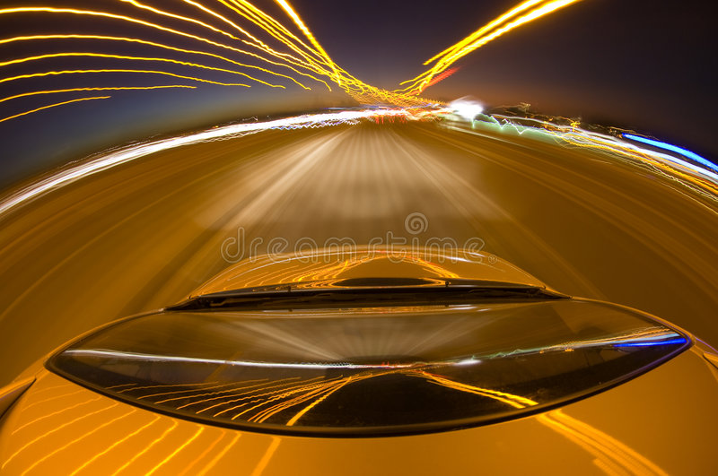 Highway Driving royalty free stock photos