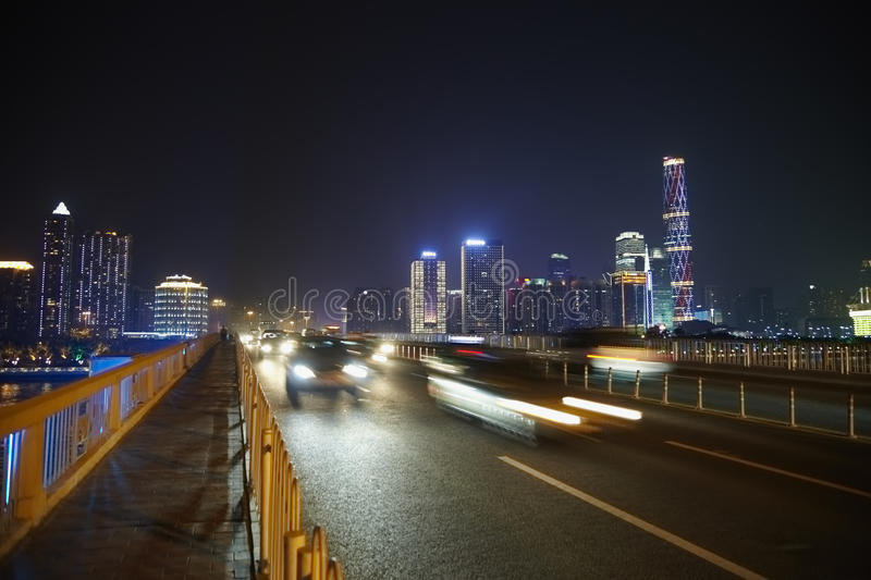 Download Highway And Guangzhou Panorama Stock Image - Image: 28023745