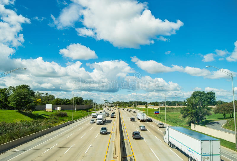 Highway stock image
