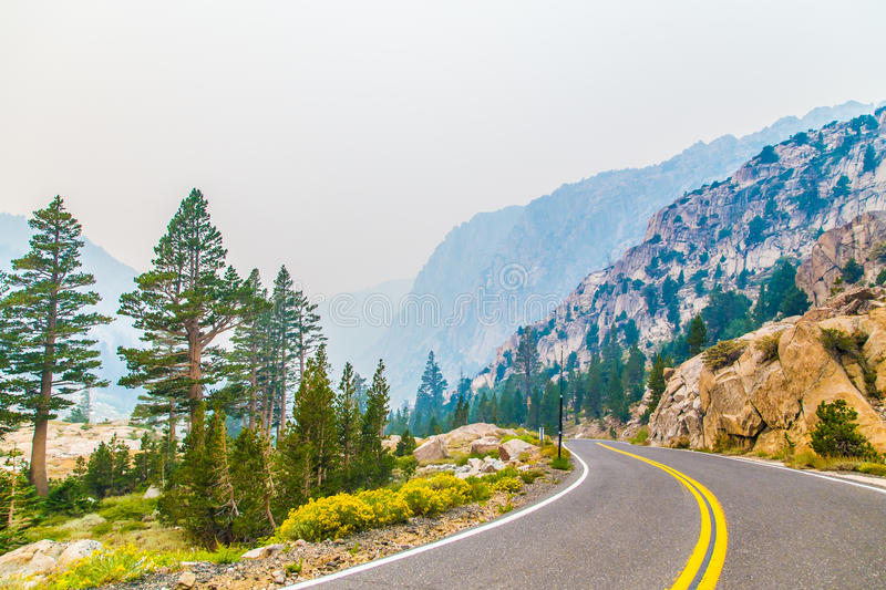 Download Highway through mountains stock image. Image of bends - 33956881
