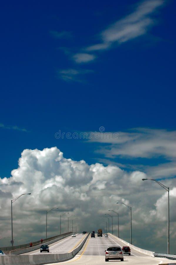 highway nieba obrazy stock