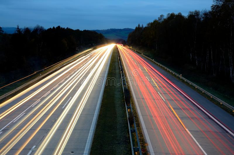 Download Highway at night stock photo. Image of street, transport - 27587122