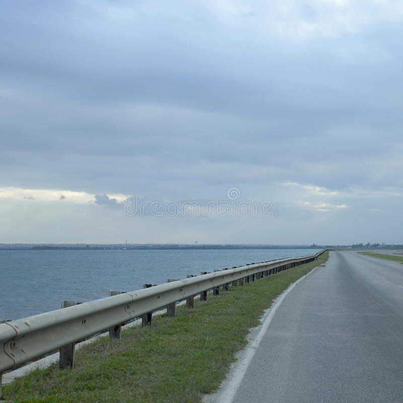 Download Highway and ocean stock image. Image of lake, angled - 30789259
