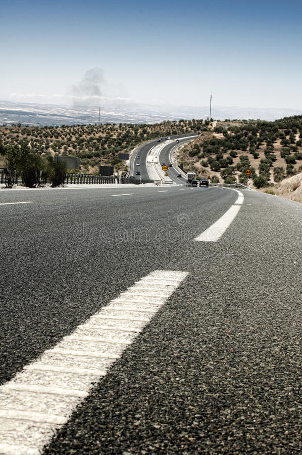 Download Highway outside the city stock image. Image of mountain - 26252631