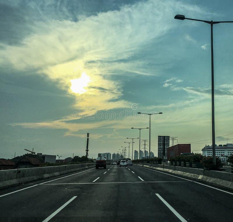 Highway. Ringroad jakarta indonesia stock images