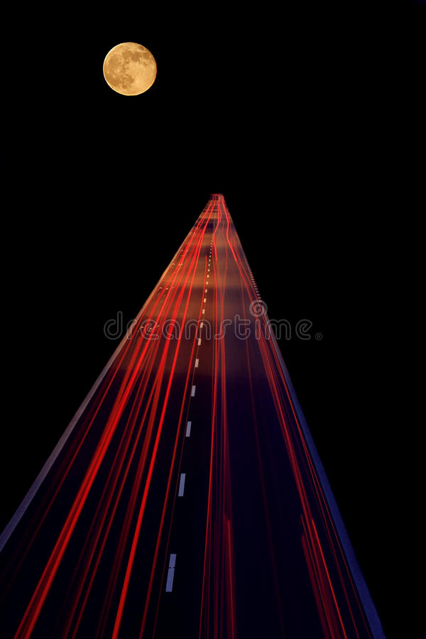 Highway to heaven stock illustration