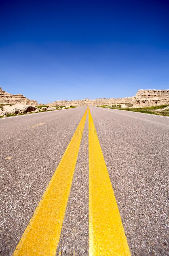 Download Highway to West stock photo. Image of ahead, road, horizon - 25161330