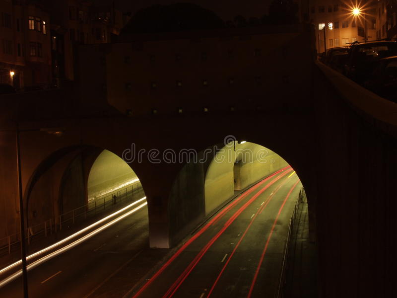 Highway tunel royalty free stock photo