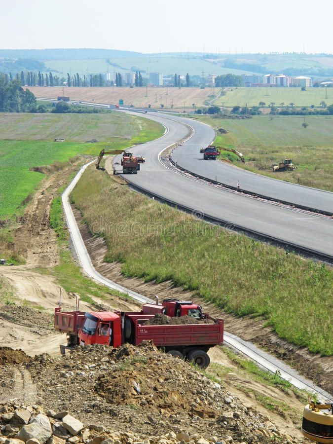 Download Highway under contruction stock photo. Image of iron - 17398842