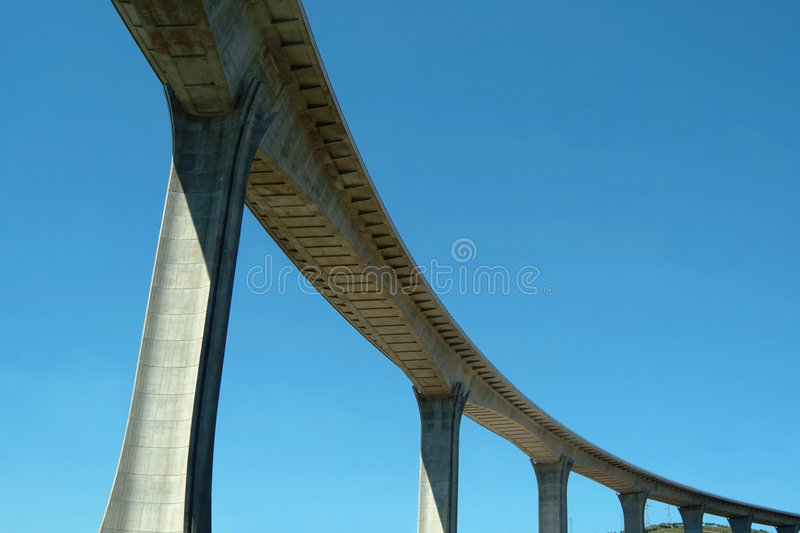 Highway viaduct stock images