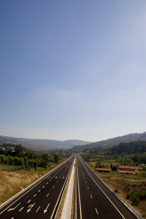 Highway1 stock afbeelding