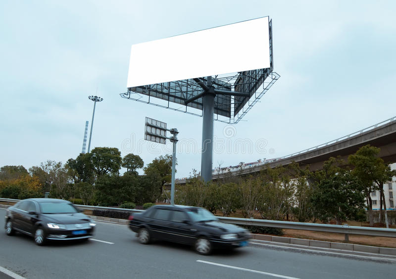 Download Highways and billboards stock image. Image of meadow - 23161387