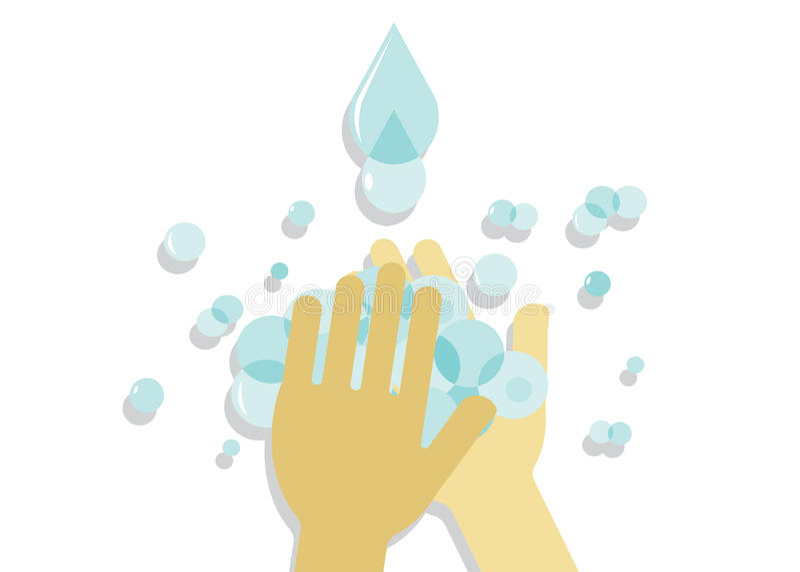 Higiene ilustração royalty free