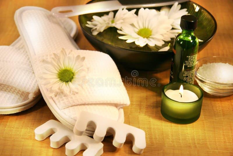 Higiene del cuidado de pie fotografía de archivo libre de regalías