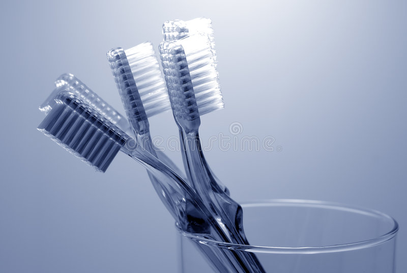 Higiene oral imagens de stock