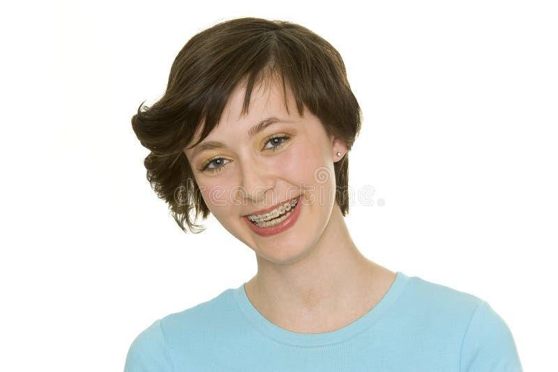 Higiene oral foto de stock