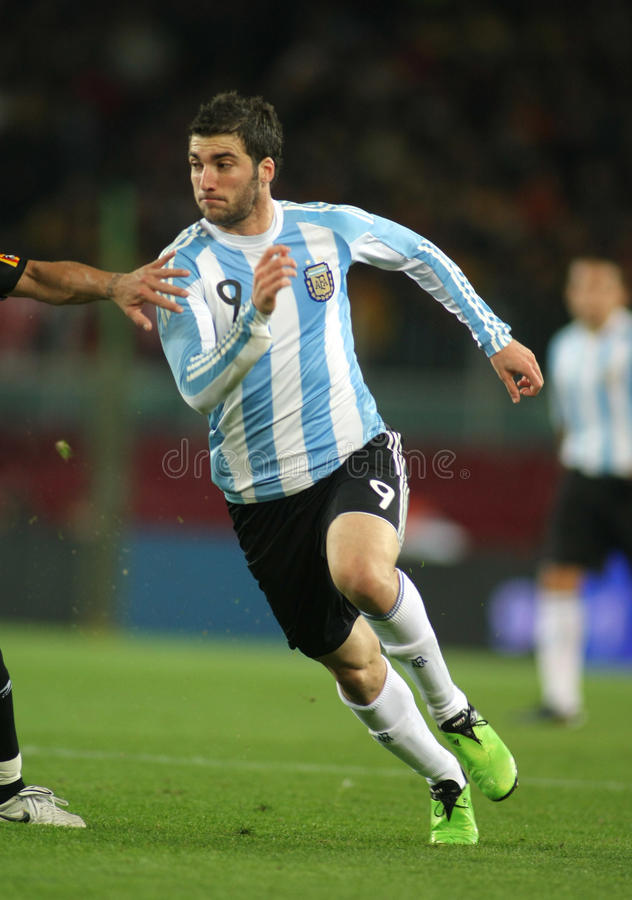 Download Higuain of Argentina editorial stock photo. Image of soccer - 12269468