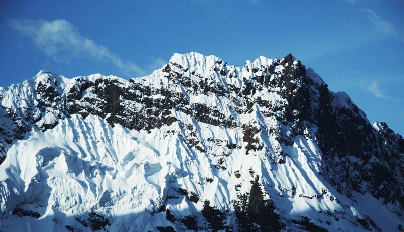 Hihg Cordilleras Mountain Royalty Free Stock Photos