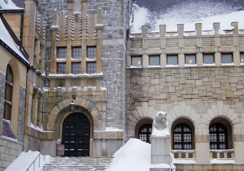 Hij Nationaal Museum van Finland royalty-vrije stock foto's