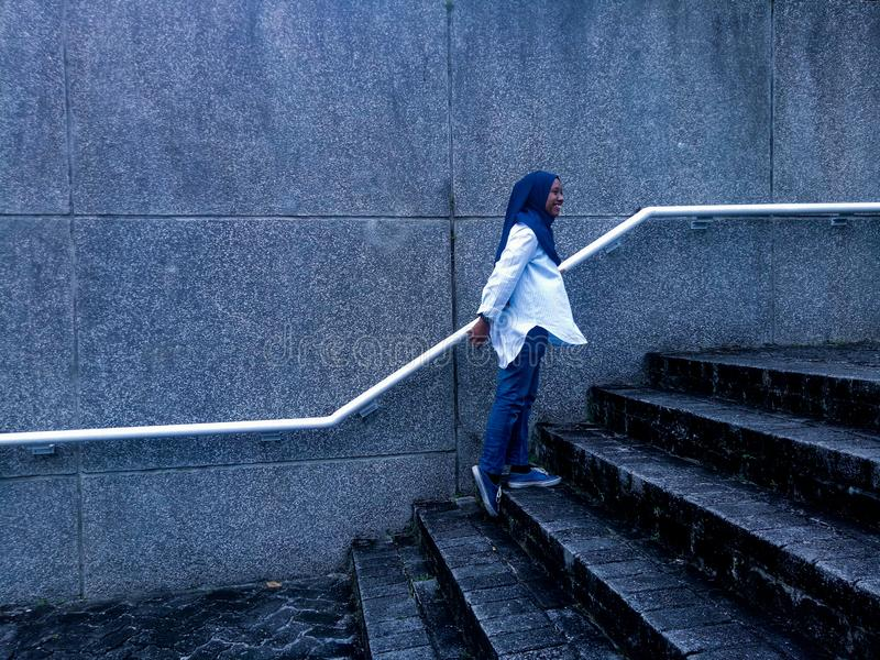 Hijab Girl royalty free stock images