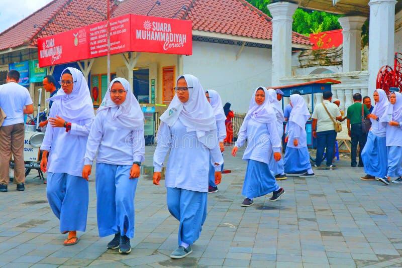Hijabstijl? royalty-vrije stock foto