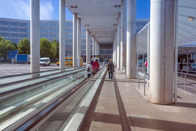 Hijo Sant Joan del aeropuerto de Palma al aire libre fotos de archivo libres de regalías