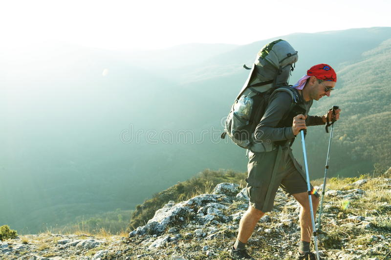Download Hike stock photo. Image of hiker, travel, adventure, mountaineering - 12106078