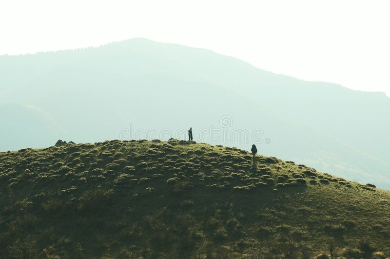Download Hike stock image. Image of grass, landscape, hiking, climber - 1585335