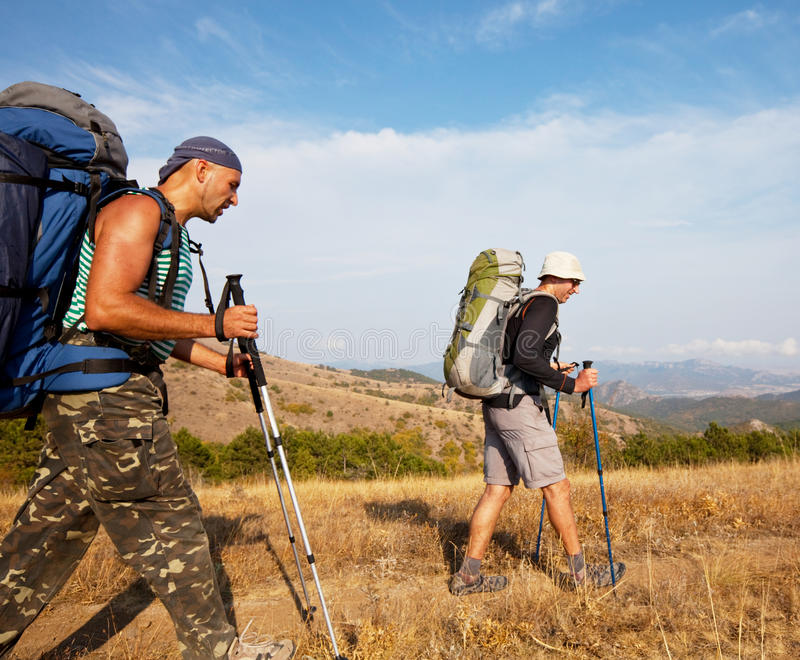 Download Hike stock image. Image of hiking, leisure, sports, road - 21840563