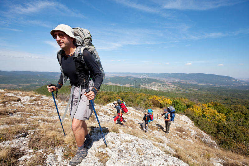 Download Hike in Crimea stock photo. Image of girls, mountaineering - 24437162