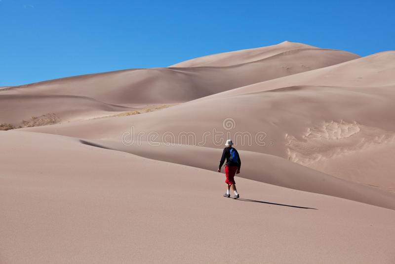 Download Hike in desert stock image. Image of mountain, hike, hiking - 18555643