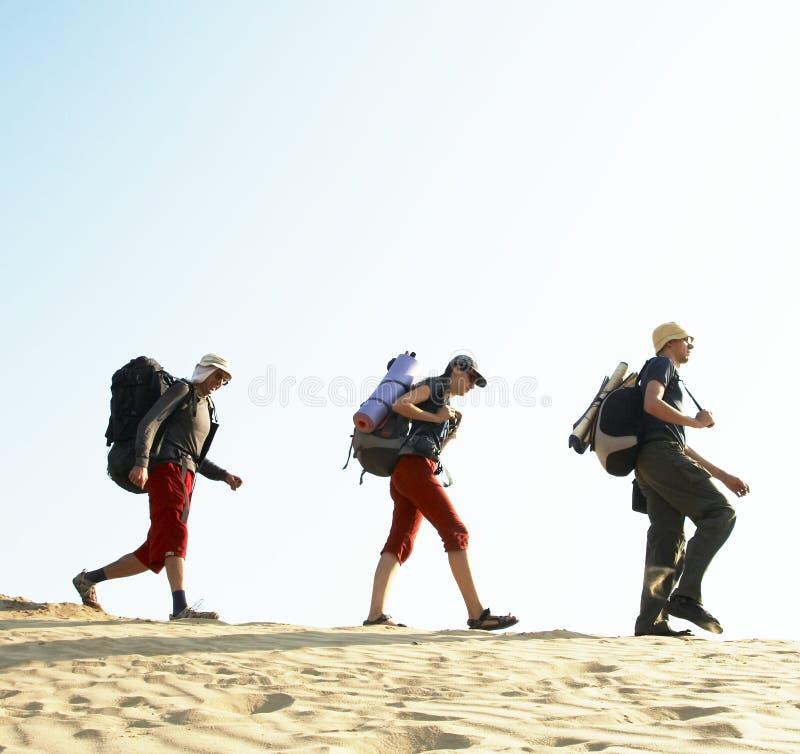 Download Hike in desert stock photo. Image of foot, rucksack, backpack - 5406368
