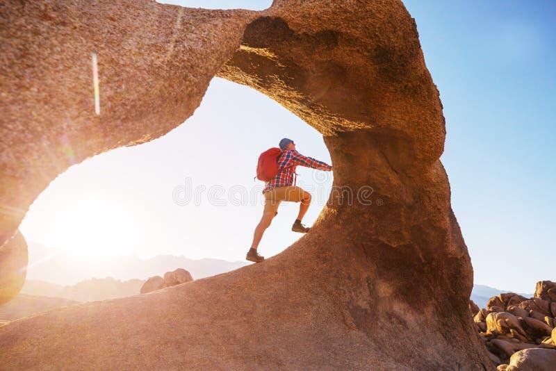 Hike em Utah imagens de stock royalty free