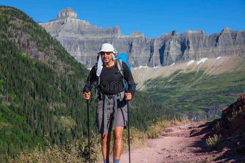 Download Hike in Glacier stock photo. Image of adventure, escape - 27045932