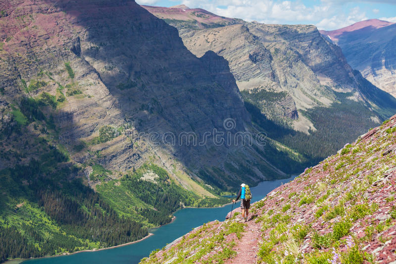 Download Hike in Glacier stock photo. Image of glacier, nature - 27054180