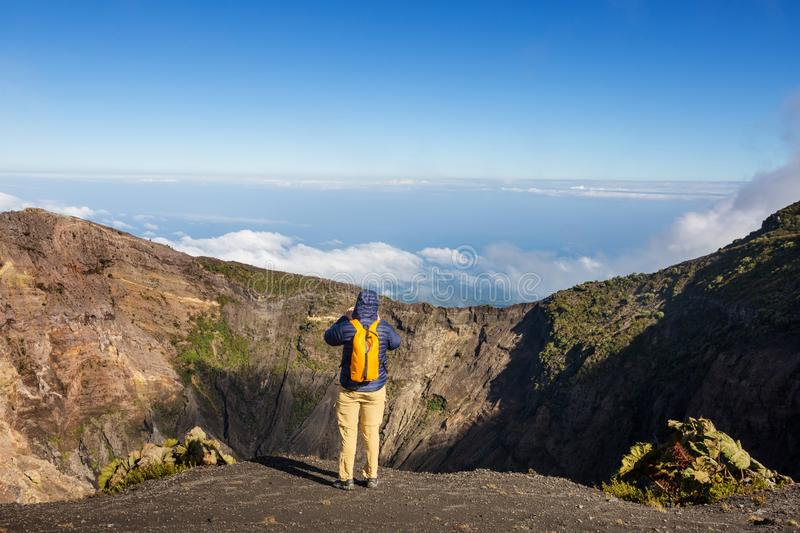 Download Hike to volcano stock image. Image of magma, hill, hike - 109450571