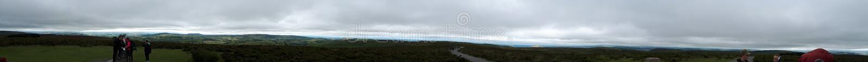 Hikeing στους λόφους στο Shropshire στοκ φωτογραφία με δικαίωμα ελεύθερης χρήσης