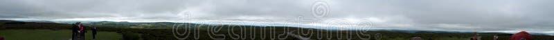 Hikeing através dos montes em Shropshire fotografia de stock royalty free