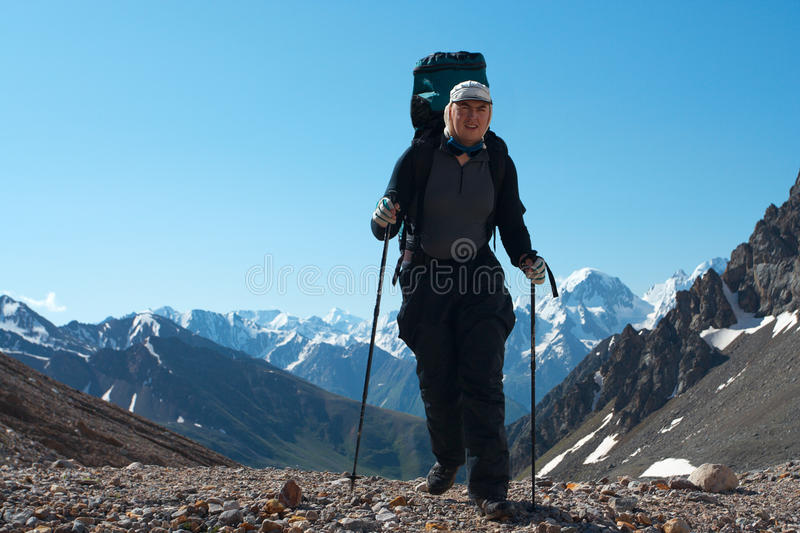 Download Hiker stock photo. Image of bright, spectacles, tourist - 18575896