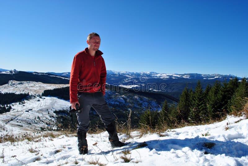 hiker стоковые фотографии rf