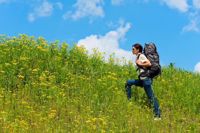 Download Hiker stock image. Image of backpacker, journey, backpacking - 23582165