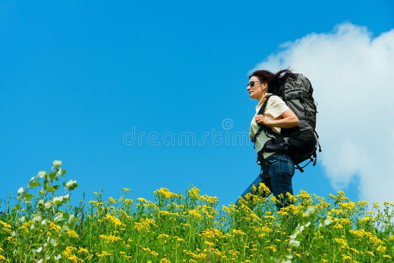 Download Hiker stock image. Image of sports, nature, knapsack - 23582235