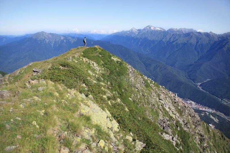 hiker fotografie stock libere da diritti