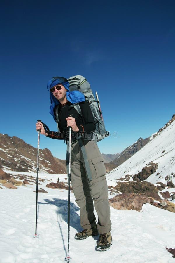 hiker fotografia stock