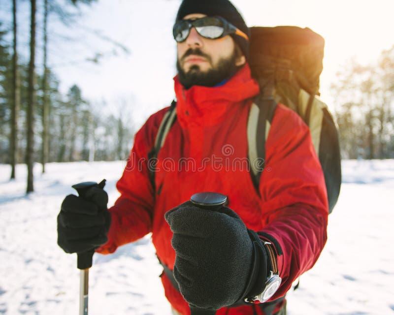 hiker imagens de stock royalty free
