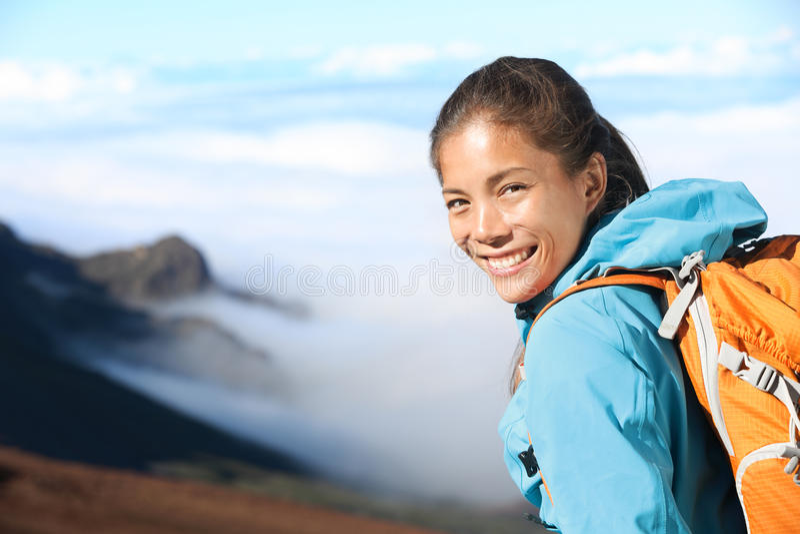 Download Hiker portrait stock photo. Image of happy, adult, aspirations - 27048038