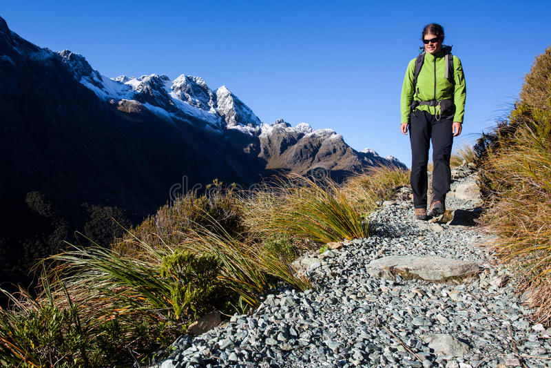 Download Hiker stock photo. Image of trekking, young, sportsman - 32131016