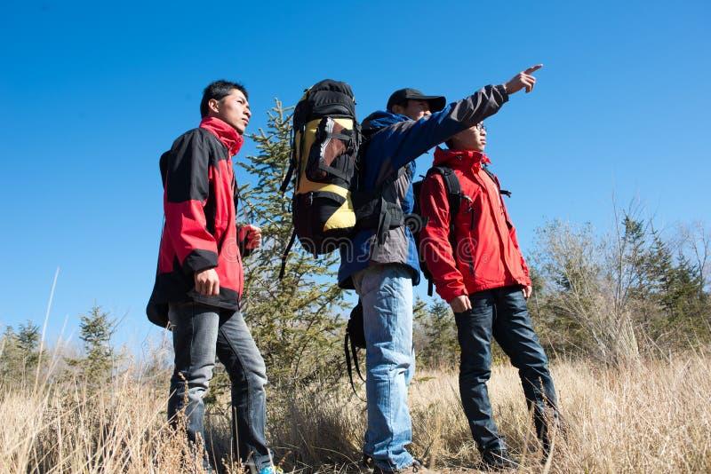 Hikers стоковая фотография