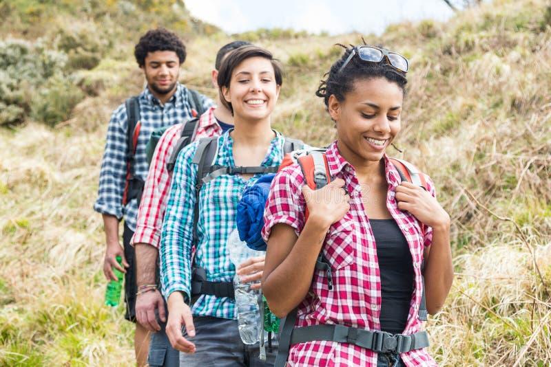 hikers fotografía de archivo
